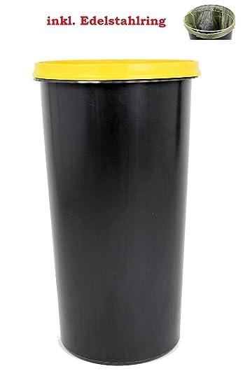 Topanbieter999 60 Liter Mülleimer Sackständer Müllständer Gelber Sack  Müllsackständer Mit Deckel Und Ring Nice Design