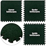 Alessco SCEG1632 SoftCarpets -Emerald Green -16 x 32 Set coupons 2017