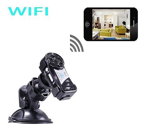 Amazon Com Mini Spy Camera Wifi Wireless Ip P2p Hidden Spy Camera