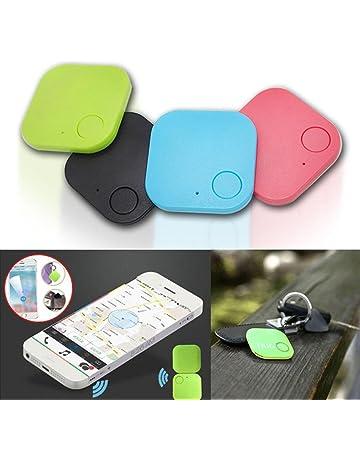 Localizadores GPS Buscador de Claves para Monedero Mascotas Niños Localizador de Alarmas en Tiempo Real