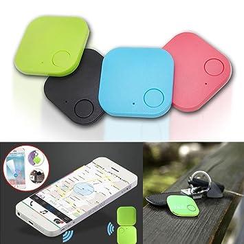 Sliwei Buscador de teléfonos Teléfono del Coche Rastreador GPS para niños Mascotas Monedero Anti Llaves perdidas Localizador de alarmas Buscador de ...