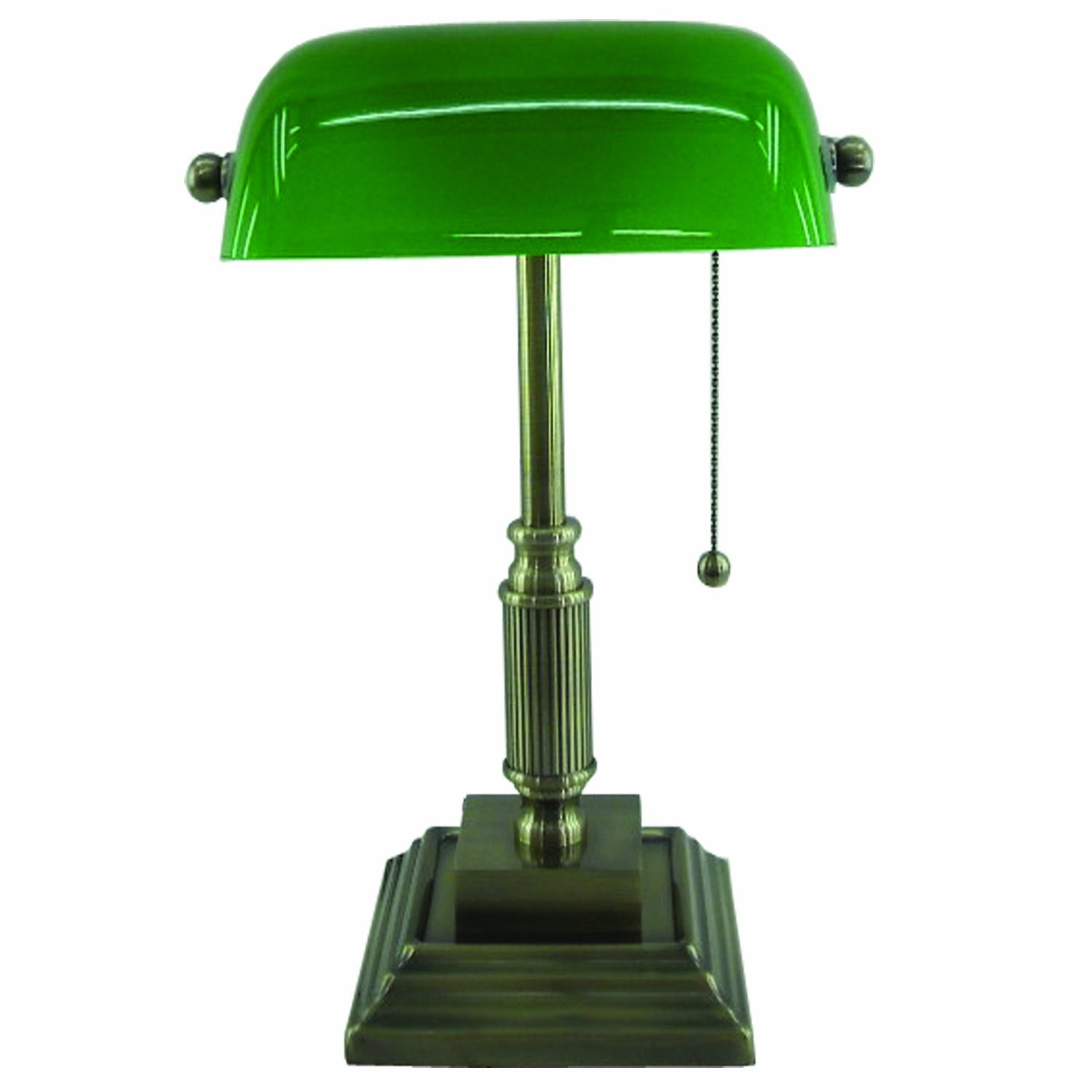 Normande Lighting AM3 624A Compact Fluorescent Bankeru0027s Lamp   Table Lamps    Amazon.com