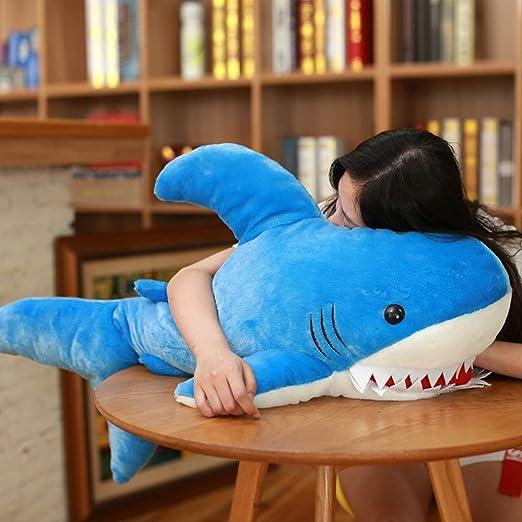 TIME lh Juguete de Felpa Divertido tiburón Juguete Suave ...
