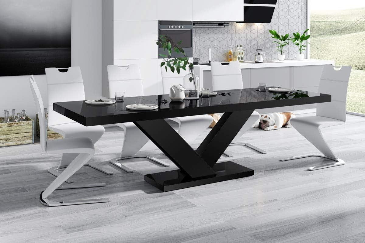 Furniture24 Design Esstisch Victoria ausziehbar 160 256 cm