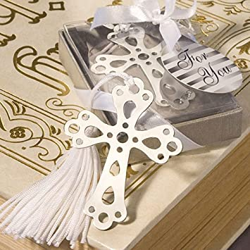 Amazon Wedding Favors Book Lovers Collection Cross Bookmark