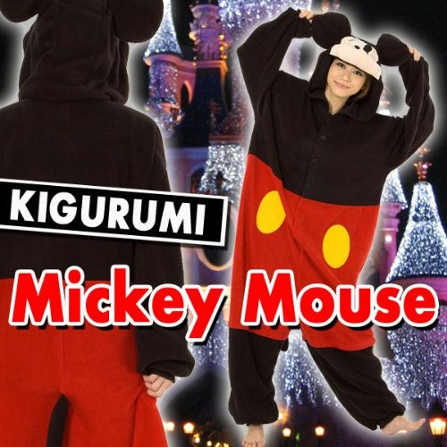 Mickey Mouse - Adults Costume (Family Mickey Mouse Costumes)