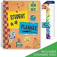 "Elementary Student Planner 2020-2021 (Matrix Style - 8.5""x11"" - Stars) - SC20-"