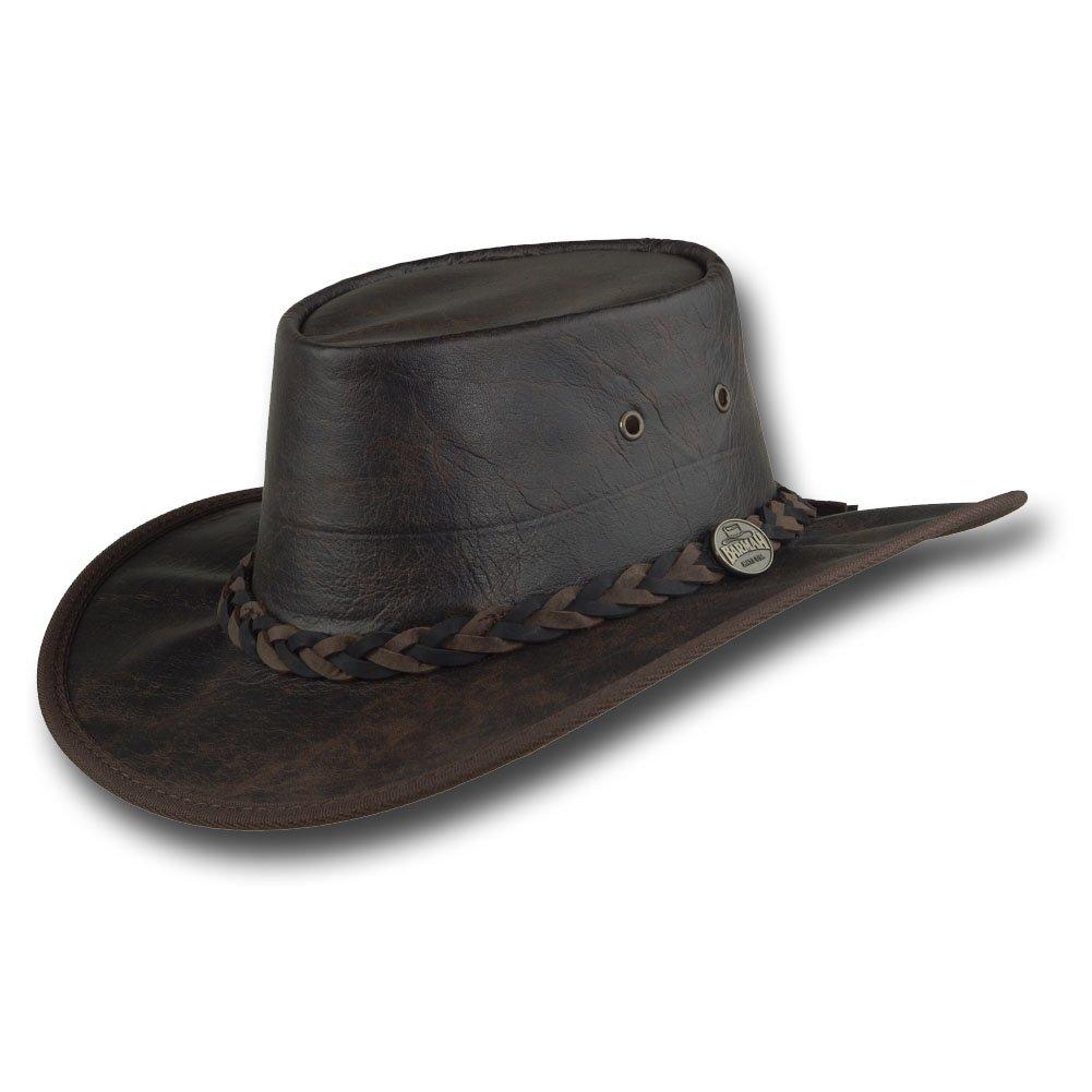 Barmah Hats Vintage Kangaroo Leather Hat - Item 1018