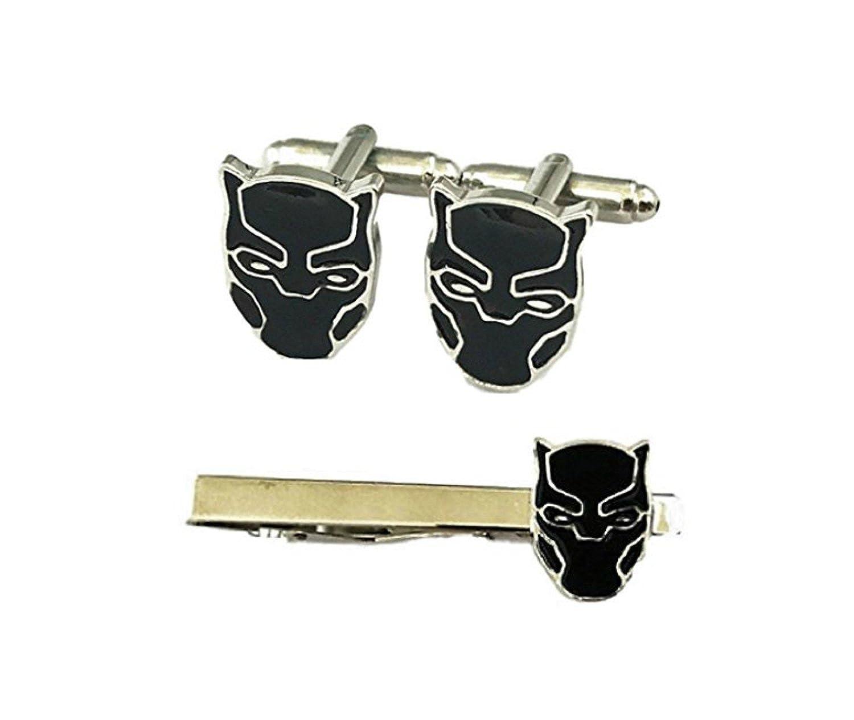 La Pantera Negra de Marvel Character Máscara de Metal y Esmalte ...