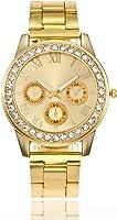 Women Stainless Steel Watch Sport Casual Luxury Business Fashion Wrist Analog Quartz Watch