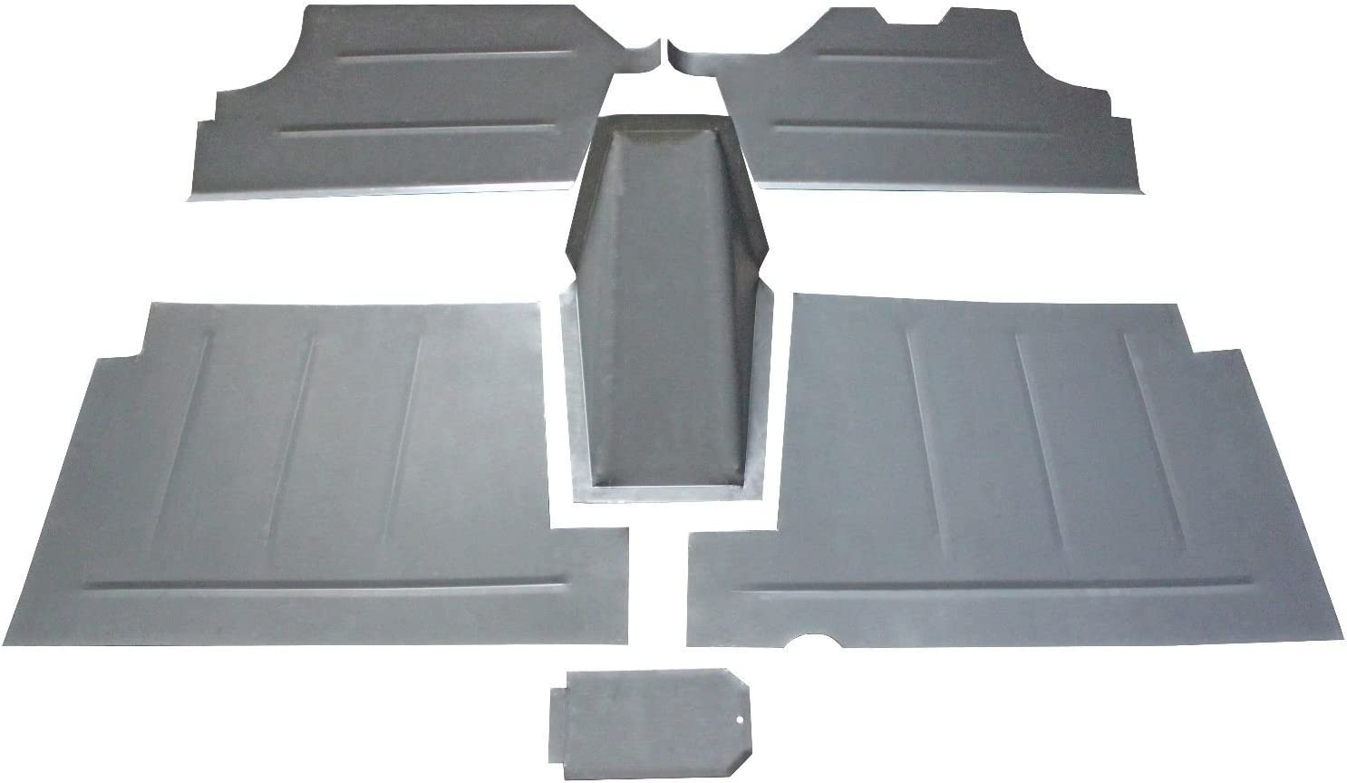 Motor City Sheet Metal Works With 1953-1969 1970 1971 1972 Ford Pickup Truck F-100 Flareside Bed STEEL Roll Pan