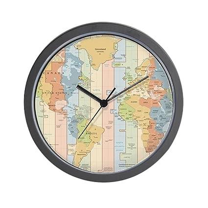 Amazon.com: CafePress - World Time Zone Map - Unique ...