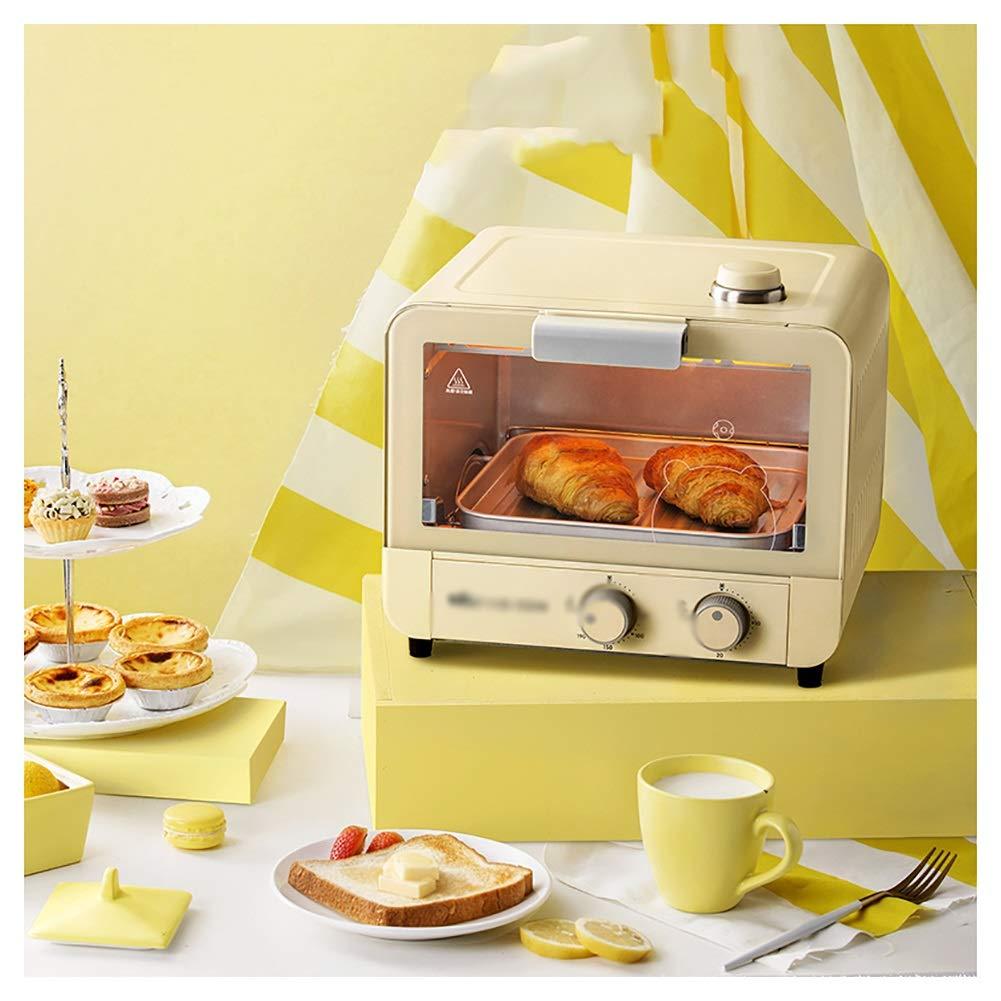SGKJJ オーブン付きミニオーブン、15Litre高速加熱オーブントースター、調理機能、グリルラック&ベーキングトレイを含む - オーブントースター   B07PM6NC2R