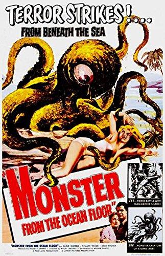 Monster From The Ocean Floor - 1954 - Movie Poster