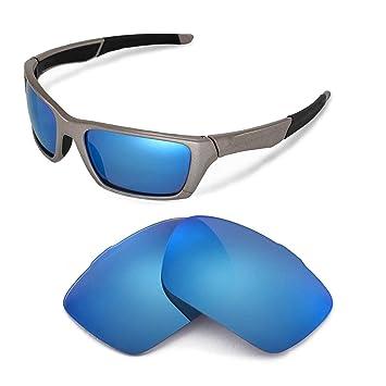 Walleva Ersatzgläser für Oakley Fives 4.0 Sonnenbrille - Mehrfache Optionen (Eisblau beschichtet - polarisiert) ZrfkvxMN4v