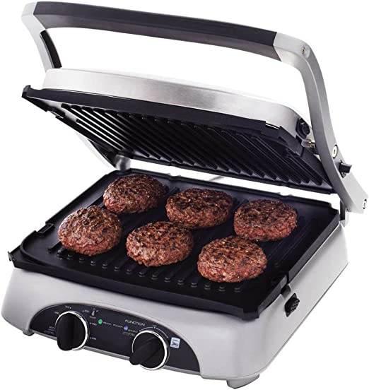 Amazon Com Farberware 4 In 1 Grill Electric Contact Grills Kitchen Dining