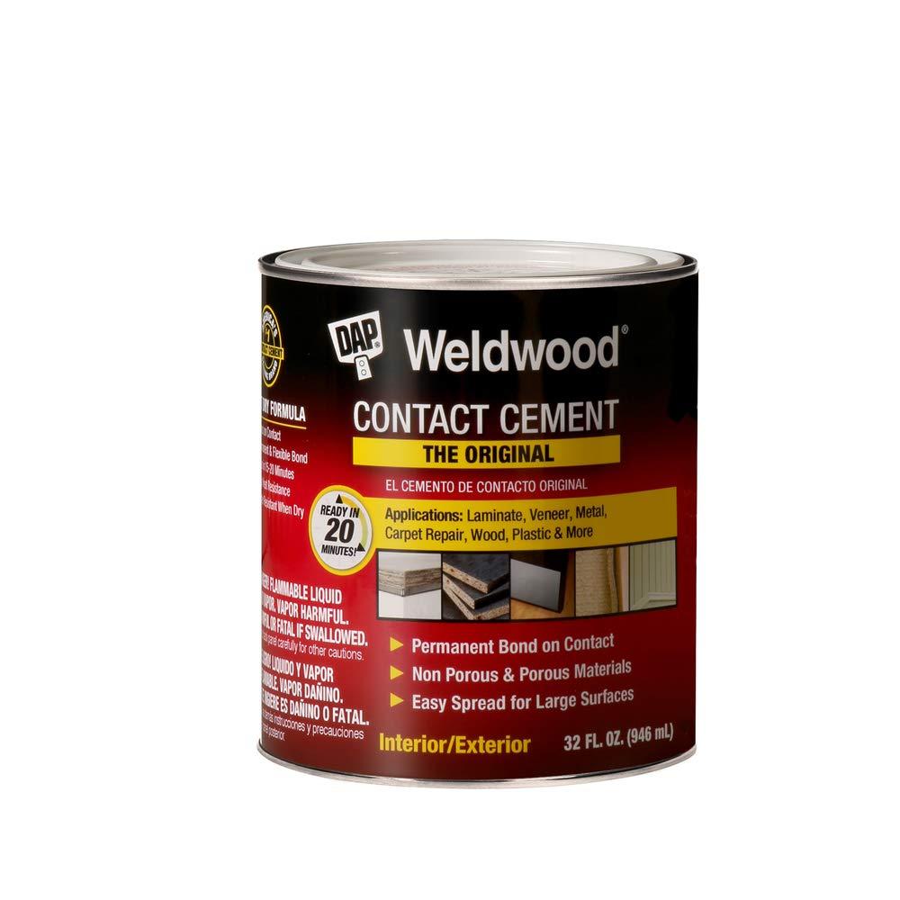 DAP 00272 Original Contact Cement Qt Raw Building Material, Tan