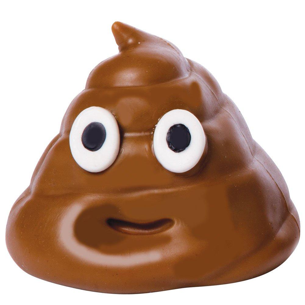 Hog Wild Sticky Poo Emoji Poo Squishy Jelly Pudding Sticky Toss Toy 1pc Random