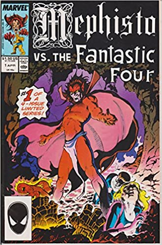 48ab33081b Mephisto Vs. The Fantastic Four (1 of 4): Al Milgrom, John Buscema, Bob  Wiacek: Amazon.com: Books