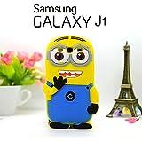 Housse de couverture de silicone Minions Coque Etui 3D Skin Cover Samsung Galaxy J1