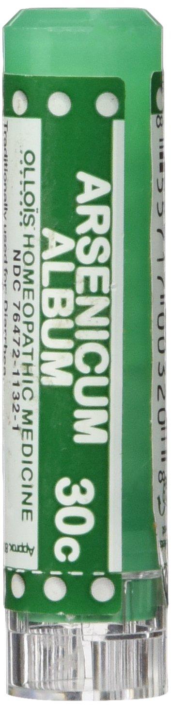 Ollois Homeopathic Medicines, Arsenicum Album 30C Pellets, 80 Count