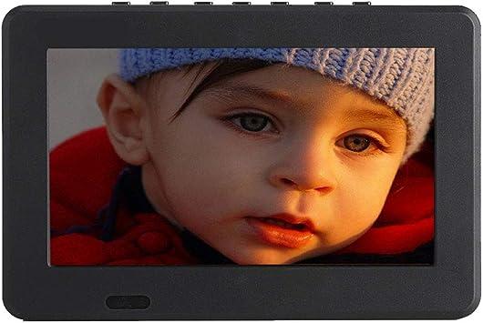 Televisor portátil DVB-T/T2 de 7 Pulgadas, TV Digital analógica ...