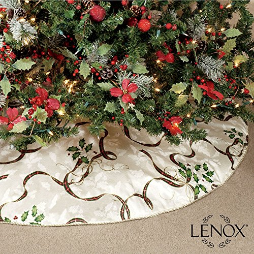 Lenox Holiday Nouveau Christmas Tree Skirt