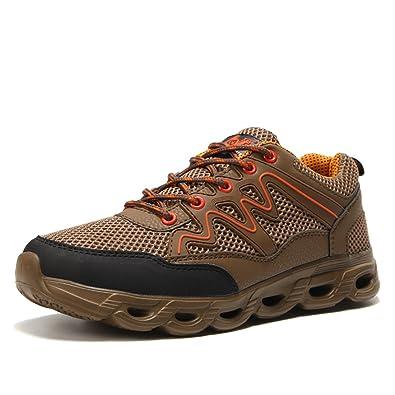 Wanderschuhe Herren Trekking Schuhe Damen Hiking Sneaker für Jungen Mädchen Unisex-Kinder tVsoy52