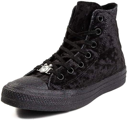 Converse Womens Chuck Taylor All Star OX Miley Cyrus WeissSilbern Sneaker High