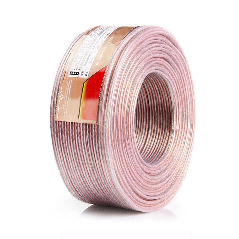 新発売の スピーカーケーブル 100m スピーカーコード オーディオケーブル 高純度OFC 3.82mm²) 錫メッキ 高品質 (100m, 3.82mm²) 高品質 100m 3.82mm2 B07BBRGBQP, イットビー:1693ef88 --- efichas.com.br