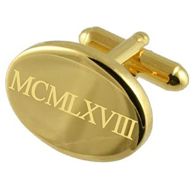 Select Gifts 1967-Gold Tone Oval Cumpleaños Número de año ...