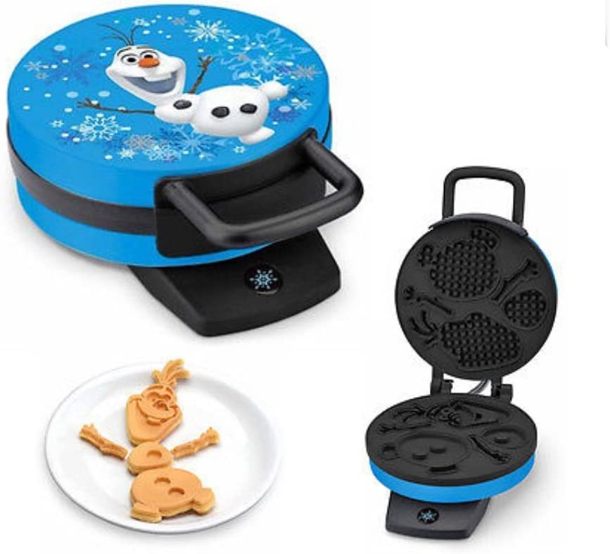 Disney Frozen Olaf Waffle Maker – Makes Olaf the Snowman Waffles