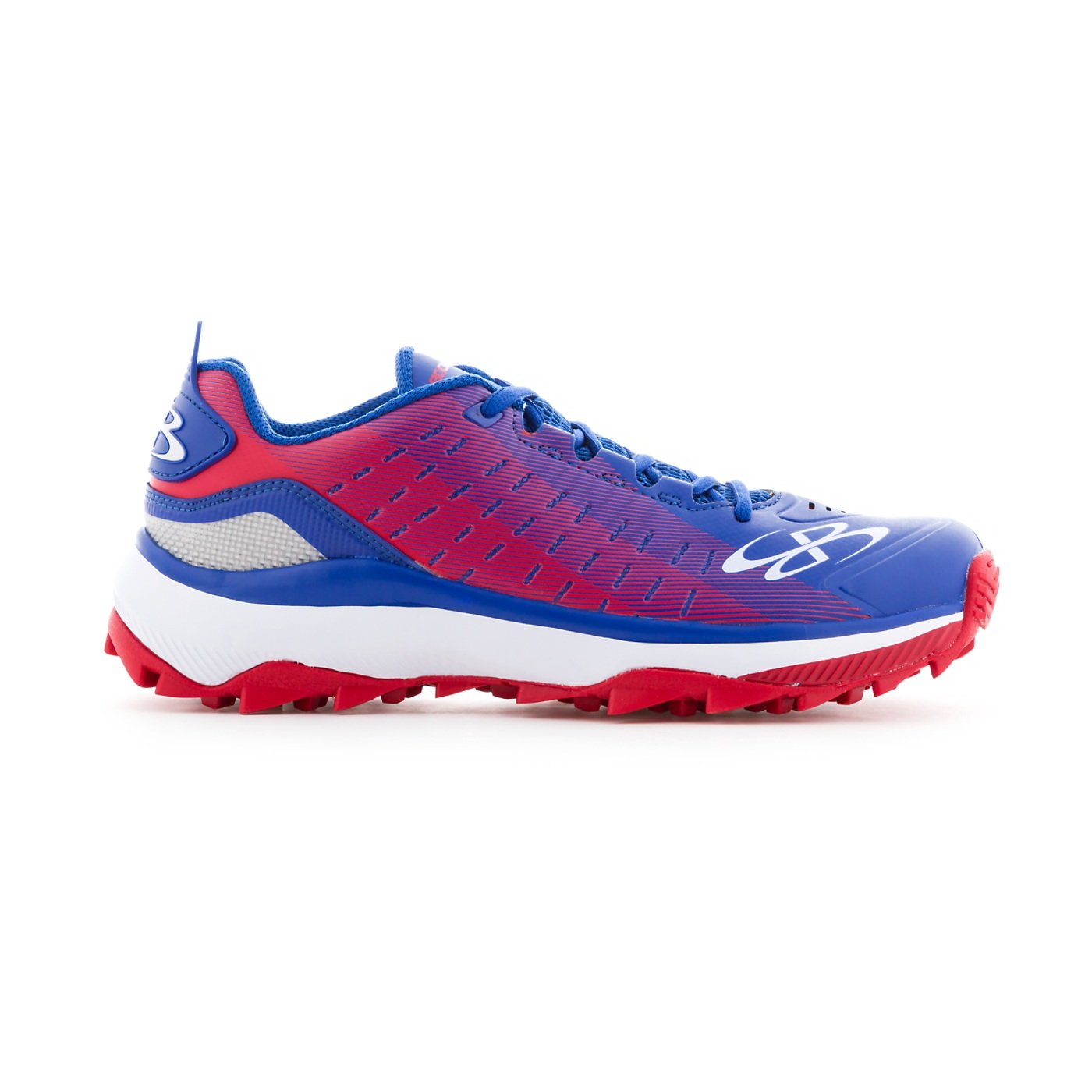 Boombah Men's Catalyst Turf Shoes - 14 Color Options - Multiple Sizes B079M1J6ZB 9|Royal/Red