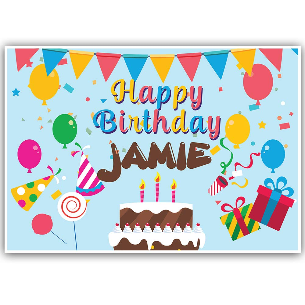Birthday Celebration Personalized Banner