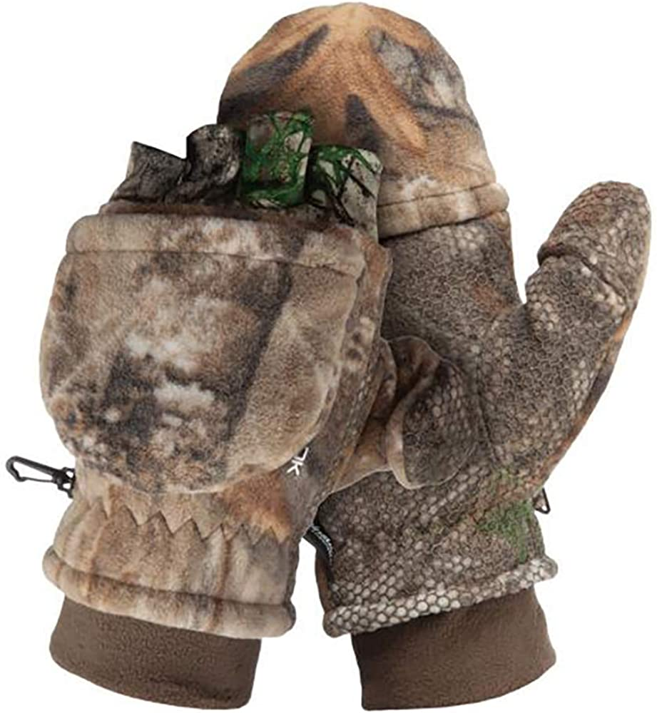 Scent-Lok Men's Fleece Pop Top Gloves