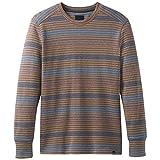prAna Men's Drfter Long Sleeve Crew Sweater, Dusk Blue, X-Large