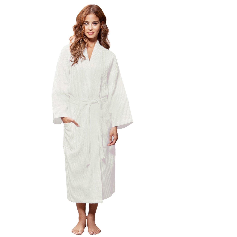 07962669bfa Amazon.com  Blue Nile Mills Hotel   Spa Cream Robe