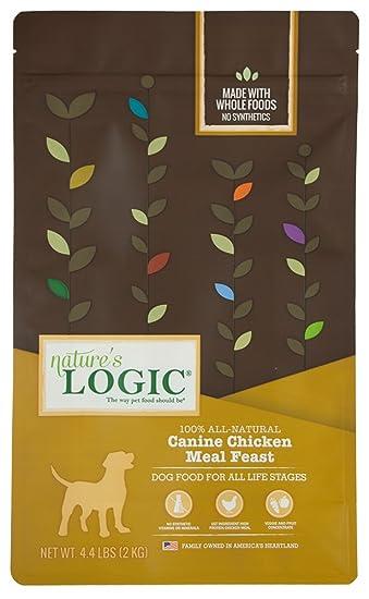 Amazon.com: Nature s Logic pollo seco – Comida para Perro ...