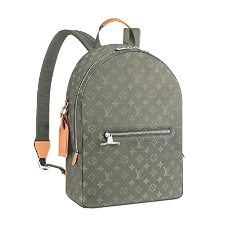 80ab94a7dfac6 Amazon.com: Paper-LV Laptop Backpack Backpack Simple Design Casual Daypack  Fashion Backpack (Monogram Titanium): Shoes