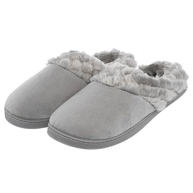 e8a66a1ba04 Amazon.com  Aerosoles Women s Cushioned House Slippers Mule Clogs ...