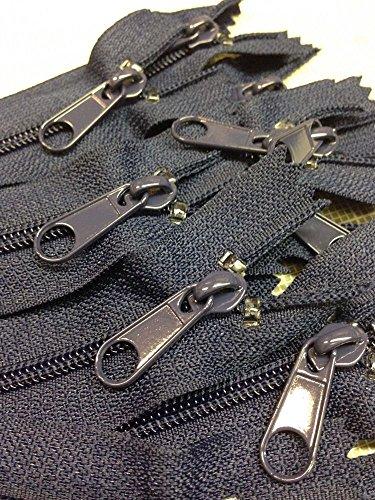 Navy Blue Zipper - 5