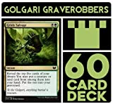 Battle Deck Grisly Graverobbers Magic The Gathering MTG Preconstructed Black Green Deck. 60 Cards.