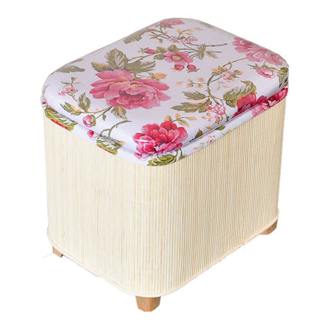 Seat cushion For Environmental solid wood Shoe bench For Can bear a weight of 150 kg Sofa stool For Storage stool Storage stool Finishing box Washing and disassembling cloth Furniture Accessories