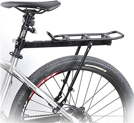 West ciclismo bicicleta portaequipajes montado MTB Touring para bicicleta freno de disco de carga accesorio de ajuste y V: Amazon.es: Deportes y aire libre