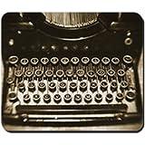 CafePress - Vintage Typewriter - Non-slip Rubber Mousepad, Gaming Mouse Pad