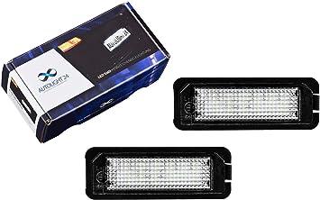Premium Led Kennzeichenbeleuchtung Nummernschildbeleuchtung 611 20 Auto