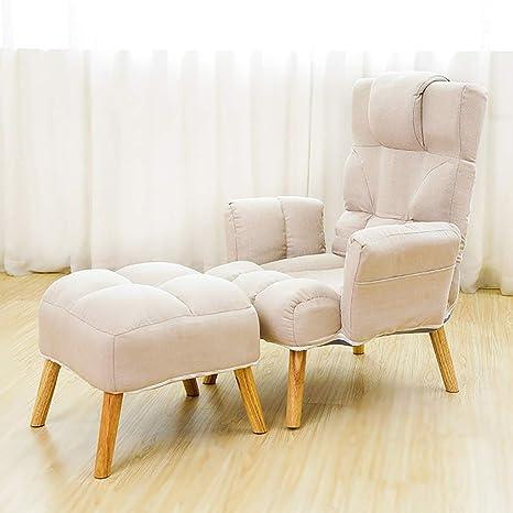 HCP mecedora Sofa Lounge Chair con Gran Respaldo, Silla De ...