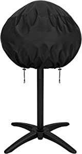 X Home Grill Cover for George Foreman 15+ Serving Indoor/Outdoor Electric Grill, Fits Models: GGR50B, GFO3320, GFO240 etc, Heavy Duty Waterproof Small Round Grill Cover