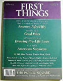 img - for First Things (Number 116, October 2001) book / textbook / text book