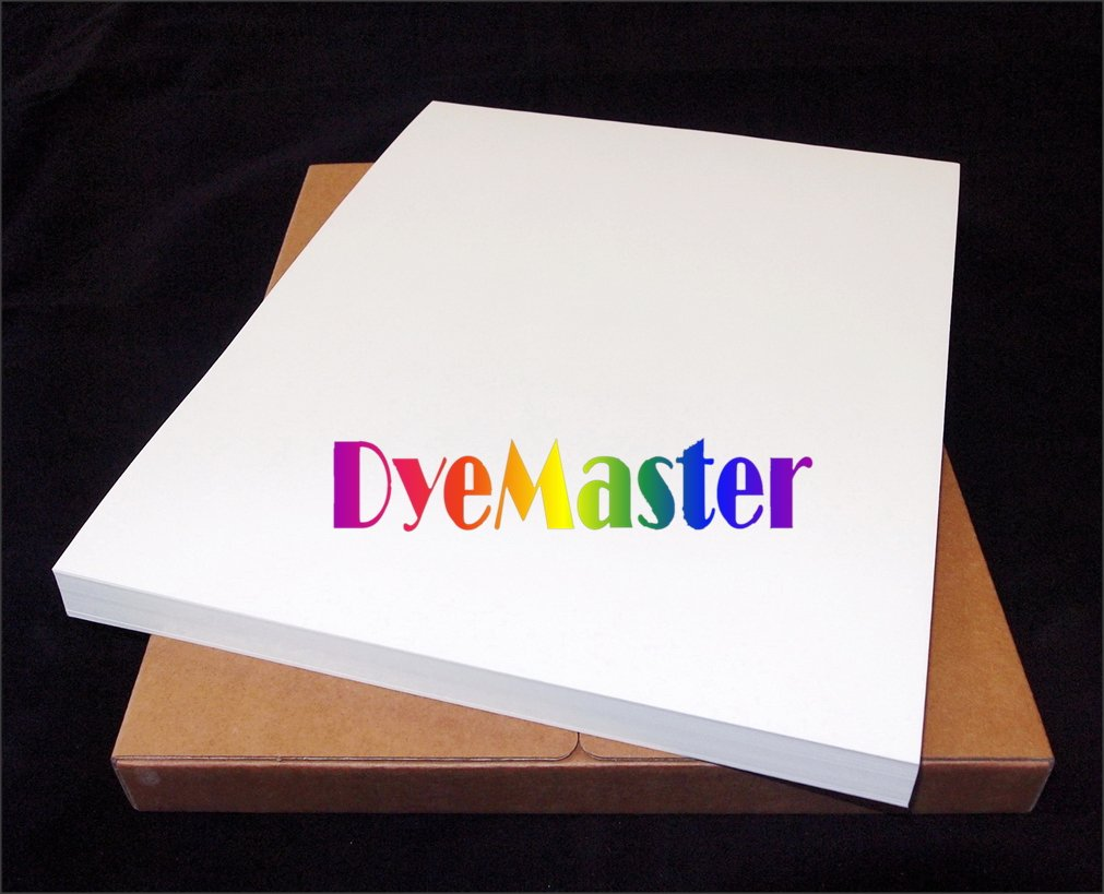 DyeMaster-R Dye Sublimation Paper for Ricoh Gel/Epson Printer, 11 x 17'' Sheets (110 sheets/pack) by DyeMaster
